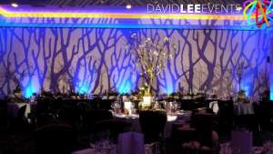 Gobo Image projection at Radisson Blu Edwardian