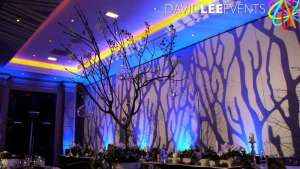 Radisson Blu Edwardian wedding lighting