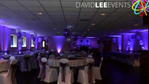 Curzon Ashton Uplighting purple