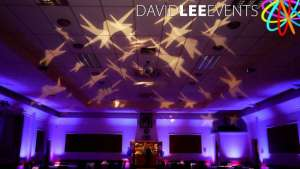 Dukinfield MasoniC Hall event Lighting