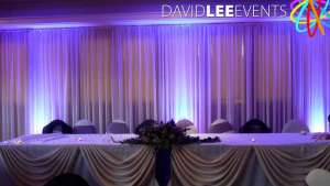 Denton Golf Club Wedding Lighting