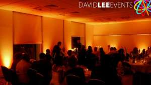 Hilton Manchester Wedding Uplighting