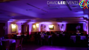Wedding Lighting at Dukinfield tameside