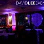 Uplighting at Dukinfield Golf Club