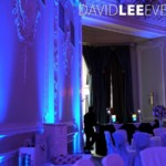 Uplighting for manchester wedding & events