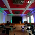 Event Lighting at Dukinfield Town Hall