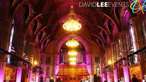 Manchester Town Hall Venue Lighting