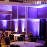 Midland Hotel Charity event Lighting
